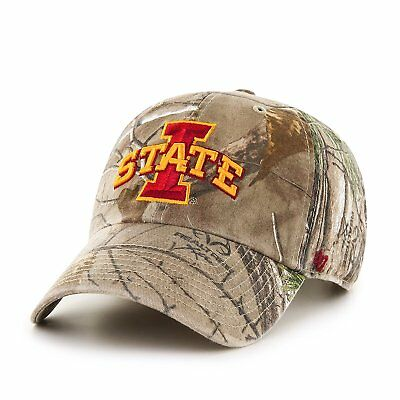 first rate b24ac 7e761 Iowa State Cyclones NCAA Realtree  47 Clean Up Adjustable Hat, One Size, NWT