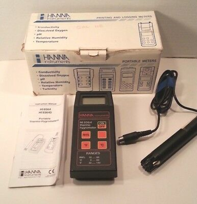 Hanna - HI-8564 - Portable Thermo Hygrometer and Probe