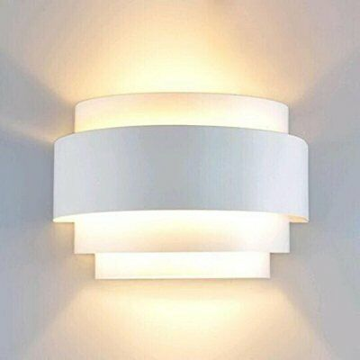 Modern Led Wall Light UP Down Wall Lights Wall Sconce Lamp E27 Living Bedroom