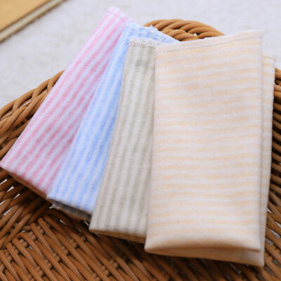 4pcs Baby Organic Cotton Gauze Baby Face Saliva Towels Wash Cloth Handkerchiefs