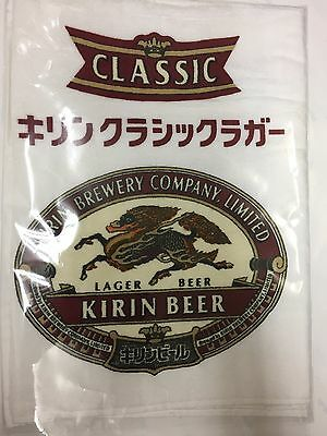 New KIRIN Classic Lager Beer Towel 32×14 inch Japan rare Collectable F/S
