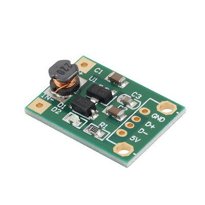 DC-DC Boost Converter Step Up Module 1-5V to 5V 500mA Power Module New QC