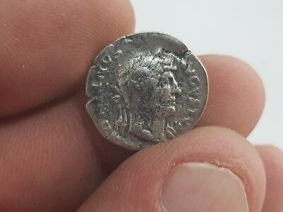 Imazing Ancient Roman Silver Coin Antoninus Pius .2,6 Gr.18 Mm