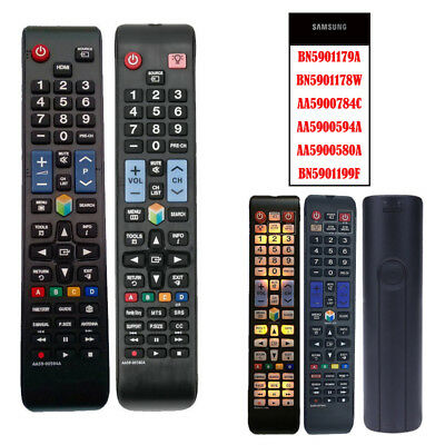 Universal Remote Control BN59-01179A For Samsung LCD LED HDTV Smart TV Buttons