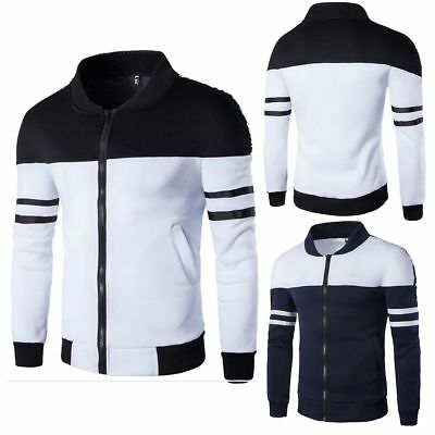 AU STOCK Men's Outwear Sweater Hoodie Warm Coat Jacket Hooded Sweatshirt Tops