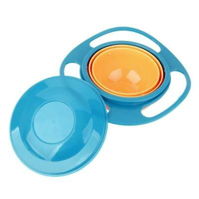 Baby Kids Bowl Non Spill Bowl Toy Dishes 360 Rotate Avoid Food Spilling