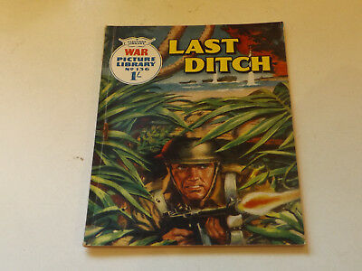WAR PICTURE LIBRARY NO 136 !,dated 1962!,GOOD for age,great 56!YEAR OLD issue.