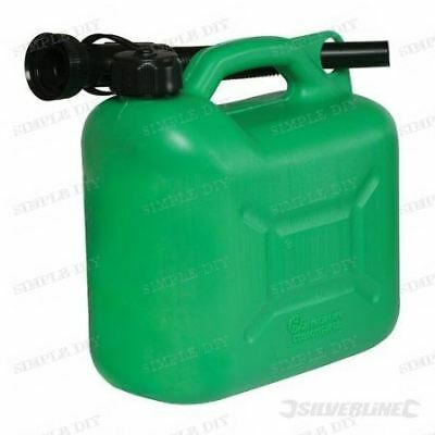 Petrol Fuel Can Plastic Diesel Jerry Can Oil Water Carrier Container 5 Litre 5L