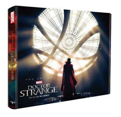 Marvel's Doctor Strange : The Art of the Movie (Hardcover) Korean Edition