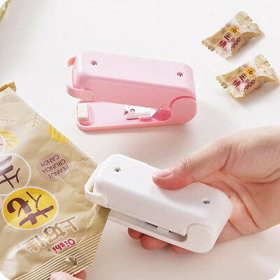 Mini Food Heat Sealing Machine Plastic Portable Impulse Packing Bag Sealer UK