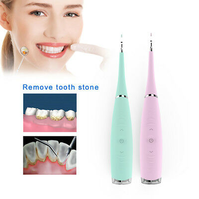 Dental Electric Sonic Scaler Teeth Whitening Calculus Clean Machine Medical