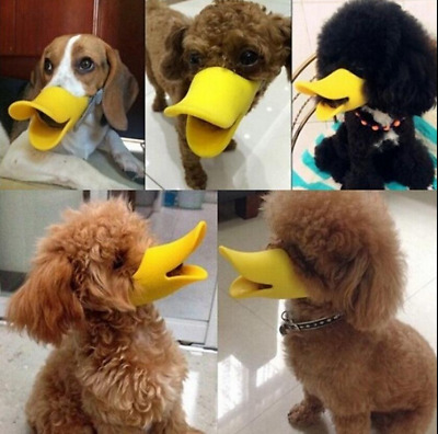 1Pcs Anti-barking Duck Muzzle Face Lip Mouth Guard Protection For Pet Dog  Puppy
