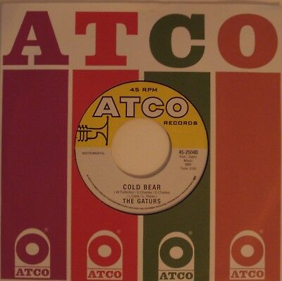 45 RPM - The Gaturs - Cold Bear / Cold Grits - It's Your Thing - Atco