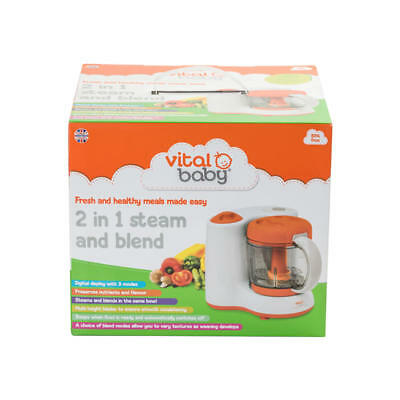 Vital Baby 2 in 1 Steam and Blend - 443176