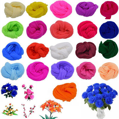5Pcs 2.3M Nylon Stocking For Making Artificial Mesh Flower Arrangement Stamen