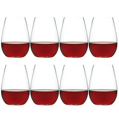 NEW Ecology Otto Stemless Wine Glass Pay For 6 Get 8 Set 460ml