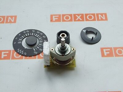 Siemens 6Fc9301-0Bc20 Sinumerik Feed Override Rotary Switch, New