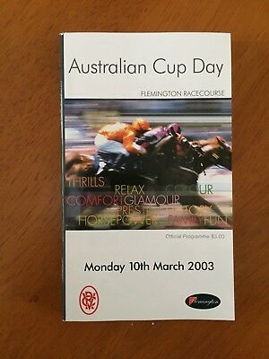 2003 Australian Cup Race Book Northerly