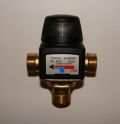 ESBE 1/2'' Thermostatic mixing valve for central heating and hot water