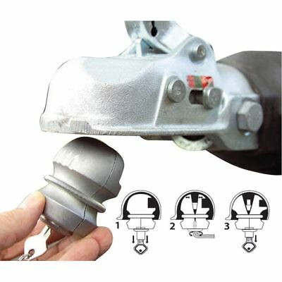 New Insertable Hitch Lock Trailer Security Hitch Tow Caravan High Ball Lock Bolt
