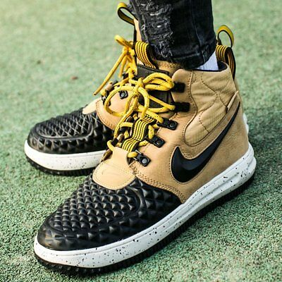 Nike Lunar Force 1 Duckboot 17 GS Gr 39 UK 6 922807 700 Braun