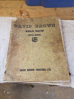 David Brown Wheeled Tractor Manual