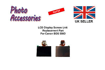 LCD Display Screen Unit Replacement Part For Canon EOS 550D