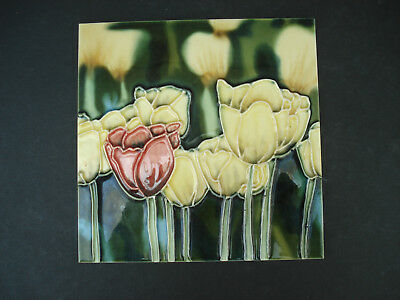 6 Inch Tube Lined Tulip Tile