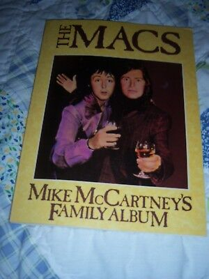 "RARE & OOP~""THE MACS"": MIKE McCARTNEY's FAMILY ALBUM (SIR PAUL)~1981~PICS & MORE"