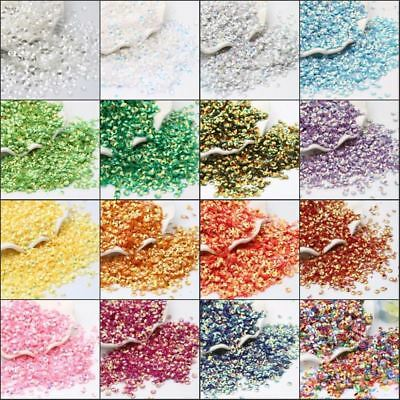 6000Pcs/Lot 4mm Deep Cup round pvc loose sequins Paillette sewing glue on Cloth