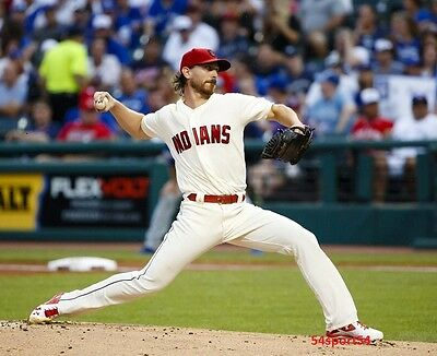 Josh Tomlin Cleveland Indians Baseball Player Glossy 8 x 10 Photo