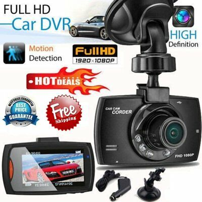 "HD 2.4"" LCD 1080P Car DVR  Camera Video Recorder Dash Cam Night Vision  G-Sensor"