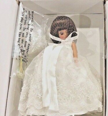 """Make Believe Bride"" TONNER 8""TINY BETSY McCALL Dressed Doll - NRFB w/SHIP~VHTF!"