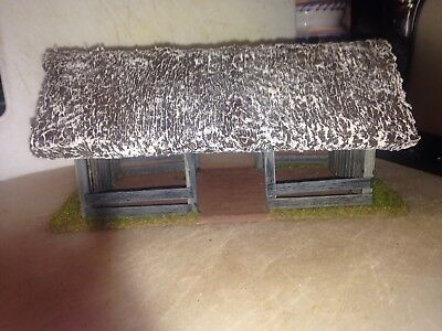 28mm scale Dark Ages Open sided thatched Barn perfect for Saga etc.