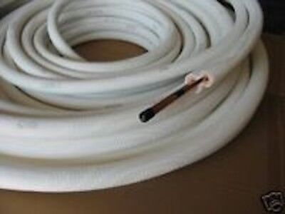 Insulated Cooling Copper Pipes Suction & Riser 1/4 Inch = 6,35 mm & 3/8 Inches=