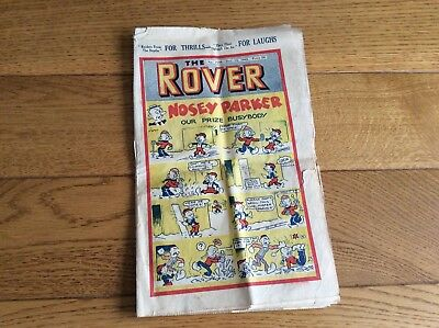 Vintage 1942 The Rover Comic