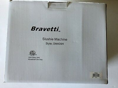 Bravetti Slushie Slush Machine SM409H *NEW
