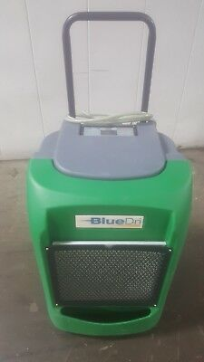 BlueDri BD-76P ETL Certified Commercial Industrial Grade Dehumidifier Green