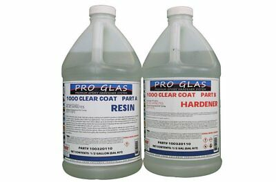 ProGlas 1000 Clear Epoxy Table Top Resin 1 Gallon Kit