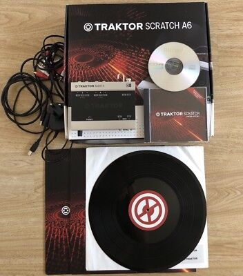 Native Instruments Traktor Scratch A6 - Hardware, Software, CD and Vinyl