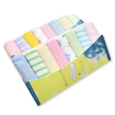 8pcs/pack Cotton Newborn Baby Towels Saliva Bibs Towel Nursing Towel Baby Boys