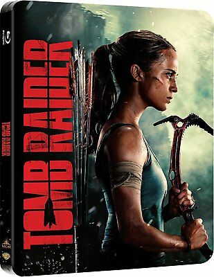 Tomb Raider (Blu-ray Steelbook) BRAND NEW
