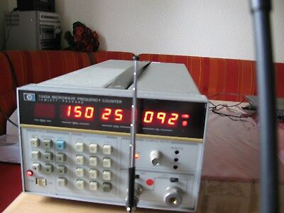 HP 5343A Microwave Frequency Counter mit OP 001