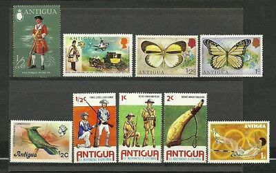 Antigua mint lot/collection 1971-76