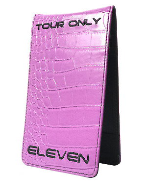 2018 Limited Edition Eleven Tour Issue Only Golf Scorecard Yardage Book Holder