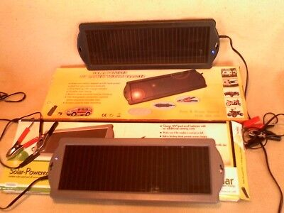 Solar Battery Chargers X 2  1.5 Volt New