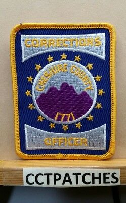 Cheshire County, New Hampshire Corrections Officer (Police) Shoulder Patch Nh