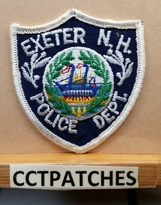 Exeter, New Hampshire Police (Small) Shoulder Patch Nh