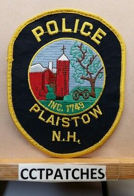 Plaistow, New Hampshire Police Shoulder Patch Nh