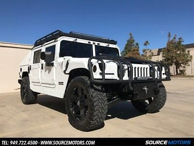 2000 Hummer H1 4 Man Hard Top Slant Back 2000 Hummer H1 4 Man Hard Top Slant Back, Leather, Custom Stereo, LED, Rockstars